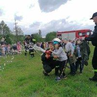 ZS Stanin - Wizyta OSP Stanin w Zespole Szkół w Staninie