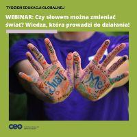 """ZS Stanin - Tydzień Edukacji Globalnej 16-23.11.2020 r.  pod hasłem """"To nasz świat. UCZYŃMY GO LEPSZYM"""""""