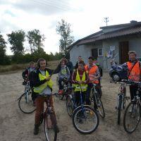 Zespół Szkół w Staninie - Rajd rowerowy