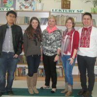 ZS Stanin - Wolontariusze z Ukrainy i Tajwanu