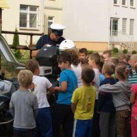 ZS Stanin - Spotkanie z policjantem klas 0-6