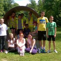 Zespół Szkół w Staninie - Rajd rowerowy klasy VI A