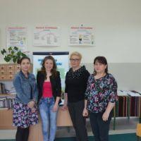 Zespół Szkół w Staninie - Oko  w oko z Iwoną Sobolewską
