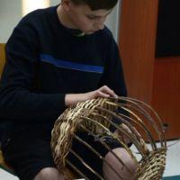 """ZS Stanin - """"Powrót do korzeni"""" wyplatanie koszy"""
