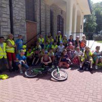 Zespół Szkół w Staninie - Rajd Rowerowy do Szczałbu