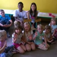 Zespół Szkół w Staninie - Wolontariusze z odległych krajów