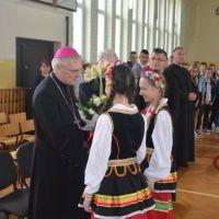 ZS Stanin - Wizytacja Kanoniczna Biskupa Kazimierza Gurdy
