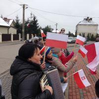Zespół Szkół w Staninie - Marsz Niepodległości