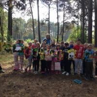 Zespół Szkół w Staninie - Zajęcia w lesie - Erasmus +