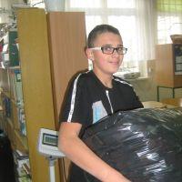 Zespół Szkół w Staninie - Odkręcamy zbieramy
