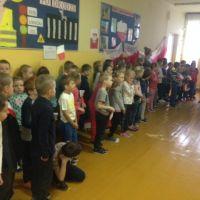 Zespół Szkół w Staninie - Apel poświęcony treściom patriotycznym