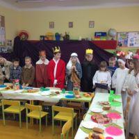 Zespół Szkół w Staninie - Wigilia klasowa i jasełka klasy III a