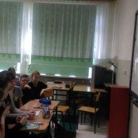 Zespół Szkół w Staninie - Wideokonferencja ze szkołą w Szwecji
