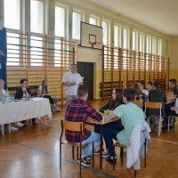 ZS Stanin - Gminny Konkurs matematyczny w Staninie