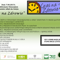 """Zespół Szkół w Staninie - Festyn """"Czas na zdrowie"""" edycja VI"""