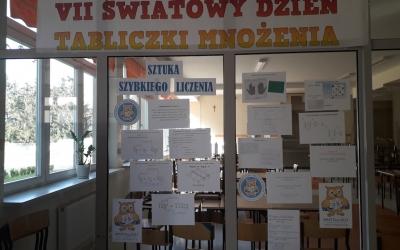 ZS Stanin - VII Światowy Dzień Tabliczki Mnożenia