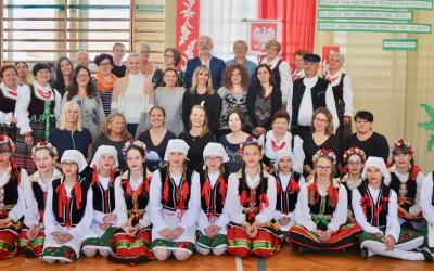 Zespół Szkół w Staninie - Delegacja gości zagranicznych w ramach Erasmus+