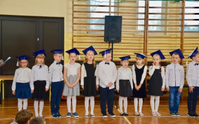 ZS Stanin - Pasowanie na ucznia klasy 1 2017/2018
