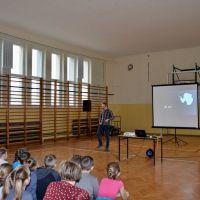 ZS Stanin - Spotkanie z podróżnikiem Piotrem Horzelą
