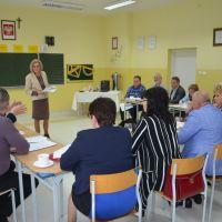 Zespół Szkół w Staninie - Spotkanie wspomagające dyrektorów szkół