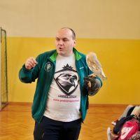 ZS Stanin - Żywa lekcja z pokazem drapieżnych ptaków