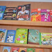 Zespół Szkół w Staninie - Nowości w bibliotece szkolnej