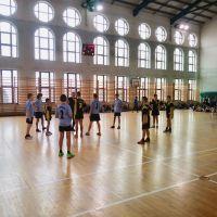 Zespół Szkół w Staninie - Rejonowe Igrzyska SZS Dzieci w Mini Piłce Koszykowej Chłopców