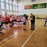 ZS Stanin - Rejonowe Igrzyska SZS Dzieci w Mini Piłce Koszykowej Chłopców