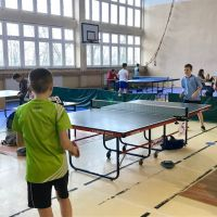 Zespół Szkół w Staninie - Finał Powiatu łukowskiego w tenisie stołowym
