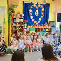 Zespół Szkół w Staninie - Dzień mamy w przedszkolu