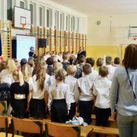 Zespół Szkół w Staninie - Wieczornica z okazji setnej rocznicy odzyskania niepodległości przez Polskę.