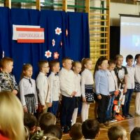 ZS Stanin - Wieczornica z okazji setnej rocznicy odzyskania niepodległości przez Polskę.