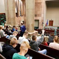 ZS Stanin - Wycieczka klas VIII do Warszawy