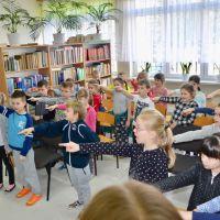 Zespół Szkół w Staninie - Pasowanie na czytelnika 2018/2019