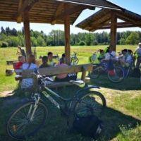 Zespół Szkół w Staninie -  Rajd rowerowy klas VI do Rezerwatu Jata