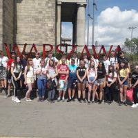 Zespół Szkół w Staninie - Wycieczka klas 6 do Warszawy