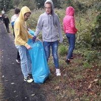 ZS Stanin - Akcja sprzątania Świata