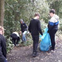 Zespół Szkół w Staninie - Akcja sprzątania Świata