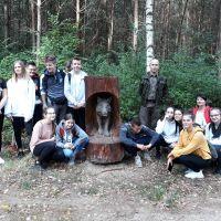 Zespół Szkół w Staninie - Rajd do Rezerwatu przyrody Jata