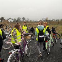 Zespół Szkół w Staninie - Rajd rowerowy klas 7