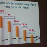 """ZS Stanin - Apel pod hasłem """"Stop uzależnieniom""""."""