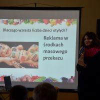 ZS Stanin - Spotkanie z Panią Dietetyk Magdaleną Kaźmierak - Sadło