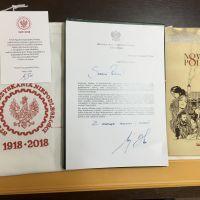 """ZS Stanin - Podziękowanie Prezydenta Andrzeja Dudy za akcję """"Narodowe Czytanie"""""""