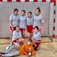 Zespół Szkół w Staninie - Powiatowy turniej piłki nożnej dziewcząt