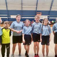 ZS Stanin - Powiatowe zawody SZS  Igrzyska Dzieci z piłki ręcznej dziewcząt