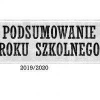 Zespół Szkół w Staninie - Podsumowanie roku szkolnego 2019/2020