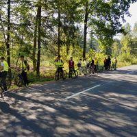 Zespół Szkół w Staninie - Rajd rowerowy klas VII