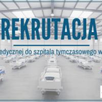 Zespół Szkół w Staninie -  Rekrutacja kadry medycznej do szpitala tymczasowego