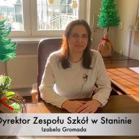 Zespół Szkół w Staninie - Życzenia Bożonarodzeniowe