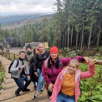 ZS Stanin - Uczniowie klas ósmych w stolicy Tatr.